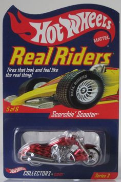 2004 Hot Wheels RLC Real Riders Scorchin Scooter