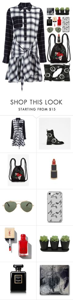 """""""08.06.17-2"""" by malenafashion27 ❤ liked on Polyvore featuring 10 Crosby Derek Lam, Monki, Georgia Perry, Givenchy, Music Notes and Chanel"""