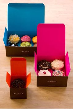Cupcakes cute box