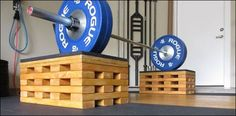 Learn how to DIY your own Olympic pulling blocks for about $100; far less than the cost of letting someone else build them for you, and it's super easy!