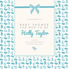 Customisable Online Baby Shower Invitations with Free RSVP Free Baby Shower Invitations, Online Invitations, Baby Online, Babyshower, Rsvp, Frame, Picture Frame, Baby Shower, Baby Showers
