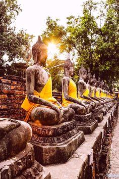 Buddhas at Ayutthaya, Thailand