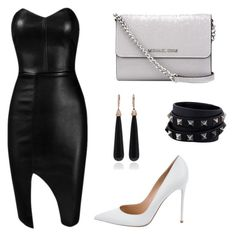 """""""set2"""" by silvada-comic ❤ liked on Polyvore featuring Posh Girl, MICHAEL Michael Kors, Valentino, Gianvito Rossi and SUSAN FOSTER"""