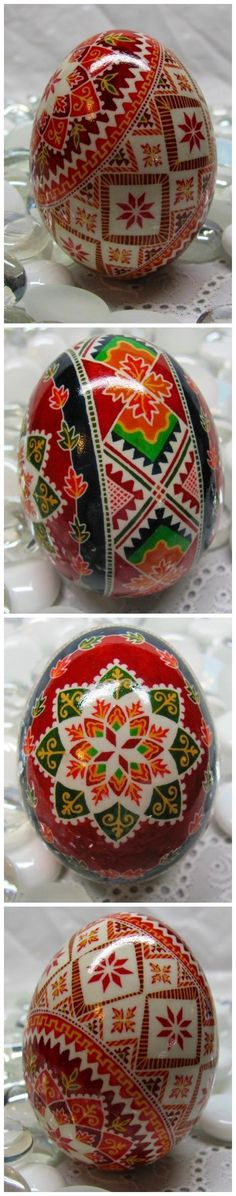 "Pysanky A note on pronunciation, ""Pysanka"" is correctly pronounced ""Pih-sahn-kah"" with the plural ""Pih-sahn-kih"". All with short vowels. Egg Crafts, Easter Crafts, Diy And Crafts, Arts And Crafts, Ukrainian Easter Eggs, Ukrainian Art, Egg Shell Art, Carved Eggs, Easter Egg Designs"