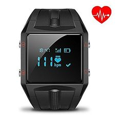 Smart Watch: Heart Rate Monitor Fitness Activity Tracker Smartwatch Wrist Band Sleep Counter Wireless Wristband Pedometer Exercise Tracking Sweatproof for Men Women ALL iPhone ALL Android Smart Phones. THIS #1 RATED ACTIVITY TRACKER WILL HELP IMPROVE YOUR HEALTH ✔ Use this revolutionary new device to track steps taken, distance traveled, calories burned and active minutes. Your get INSTANT REMINDERS when CALLS or TEXTS are coming in, plus you can activate the Anti Lost feature to get…
