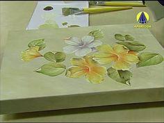 Vida com Arte | Adesivagem em Porcelana por Rosana Cremasco - 16 de Maio de 2014 - YouTube