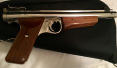 Sheridan HB Nickle pistol