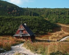 Polish Tatras Cottage Old Youth Trail Wooden House