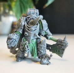 Stuffed Death Guard Lord