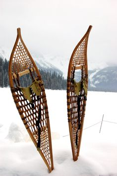 My hubby and I love enjoying the Great Outdoors in the winter. So snowshoeing is a must to really take in our Canadian winter season!