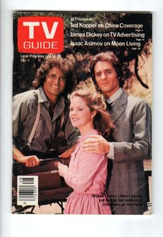 TV Guide Magazine (only 39 cents!) July 14-20 1979 featuring Little House stars: Michael Landon, Melissa Sue Anderson, & Linwood Boomer.