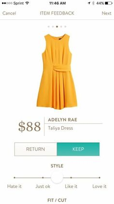Fun color and style! Stitch Fix App, Stitch Fix Dress, Stitch Fix Outfits, Knitted Romper, Knit Dress, She's A Lady, Spring Summer Fashion, Spring 2016, Summer 2016
