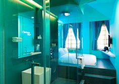 DesignHotels have opened a delicious new dreamscape for the Singapore-bound traveler-- the Wanderlust Hotel. Wanderlust is a boutique hotel like no Wanderlust Hotel Singapore, Singapore Travel, Little India Singapore, 29 Rooms, Open Bathroom, Glass Bathroom, Bathrooms, Bedroom Turquoise, Hotel Room Design