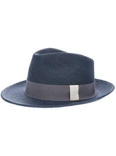 LA CERISE SUR LE CHAPEAU Straw Trilby #lacerisesurlechapeau #chapeau #hat