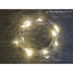 Limited Supply 33 Ft Led Battery Operated Fairy Lights Rustic Wedding... ($12) ❤ liked on Polyvore featuring home, lighting, grey, home & living, battery powered string lights, battery lights, rustic lighting, battery operated light and battery powered lamp