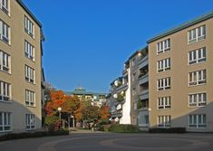 Dr.-Adolf-Schärf-Hof Multi Story Building, Street View, Social Housing, Communities Unit, Homes
