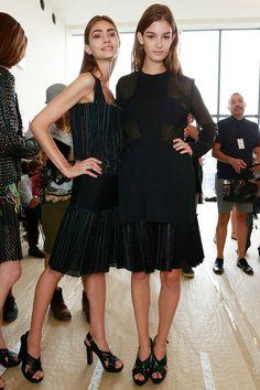 #pleats {Calvin Klein Collection #Spring2014 Ready-to-Wear Collection} #nyfw
