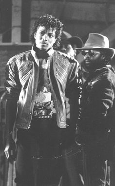Michael Jackson On The Beat It Set | by ILoveMikeyMJ!