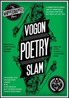 Vogon Poetry Slam