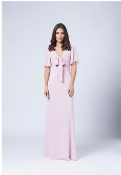 View our Range of Bespoke Bridesmaid Dresses in London. Bridal Wear & Dresses to suit your needs. Buy your Bridesmaid Dress & Bridal Wear Online - View Now! Unique Bridesmaid Dresses, Blue Bridesmaids, Bridal Dresses, Chiffon Ruffle, Chiffon Gown, Maids To Measure, Bridesmaid Inspiration, Wedding Inspiration, Bride Look