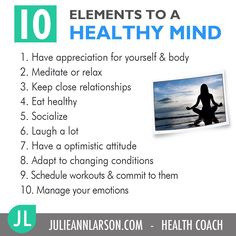 A healthy mind can shift your entire world, resulting in a healthy lifestyle!  @julieannlarson2 #healthychoices #healthcoach #mindset #healthymind #julieannlarson2
