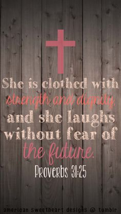 Case for Iphone 6 Plus Bible Verse,Topgraph Apple iPhone 6 Plus Hard Slim Case Christian Quotes She Is Clothed With Strength And Dignity And She Laughs Without Fear Of The Future Proverbs Pink Cross Tumblr Quotes, New Quotes, Inspirational Quotes, Motivational, Bible Verses About Strength, Bible Verses Quotes, Scriptures, Apple Iphone 6, Iphone Wallpaper Bible