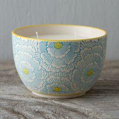 Jasmine & Bamboo Bowl Candle