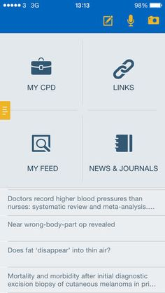 One of the best new medical apps for doctors that can improve your professional career in multiple ways... The Digitalis CPD App is designed to bring simplicity and efficiency to the process of continuing professional