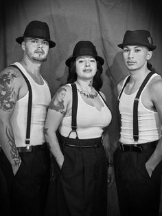 pachucos (Zoot Suiters) Started in El Paso, Texas.