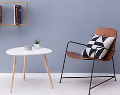 Retro-style Plectrum side tables by Brandani discounted at Monoqi