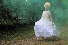 Ph. Marcella Rallo Make up & Hair : Debora Tironi Stylist: Letizia Negri Model: Milena Paris