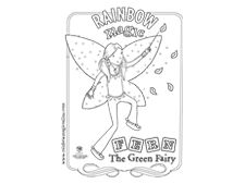 Fern The Green Fairy Vegetation And Vegetables Fresh Cut Grass Scented Dust