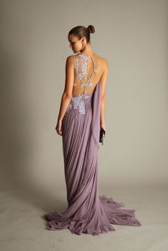 beautiful color, dress, and back!!