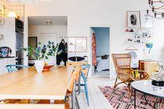 Öppen planlösning mellan kök och vardagsrum - Roomly.se inredning på nätet