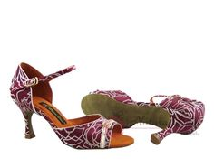 Natural Spin Tango Ladies Dance Shoes (Designer): Salsa Shoes/Tango Shoes/Fashio