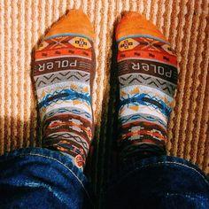 Poler x Stance socks.  #poler #polerstuff #campvibes