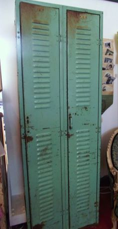 Turquoise Lockers love this patina, want to reproduce it