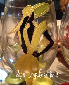 A FABULOUS Wine Glass for Dining and by SugarLumpCreations on Etsy