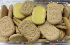 Despicable Me Minion Ice Biscuits