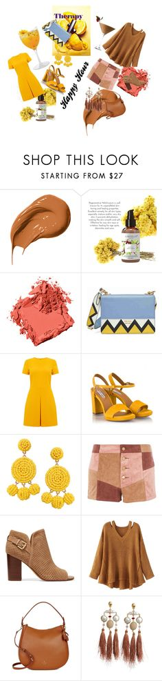 """""""Happy Hour"""" by gigi-sessions on Polyvore featuring Therapy, Bobbi Brown Cosmetics, Prada, Warehouse, Fratelli Karida, Humble Chic, WYLDR, Sam Edelman, WithChic and Kate Spade"""