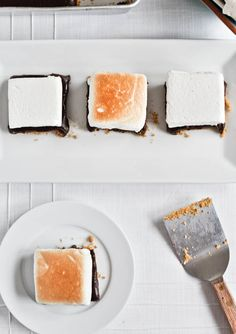 No-Bake S'mores Bars | howsweeteats.com