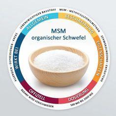 Allgemein:Schwefel ist ein lebenswichtiger Baustoff und das dritthäufigste Mineral im menschlichen Körper. Er ist ebenso ein Grundelement unseres Stoffwechsels