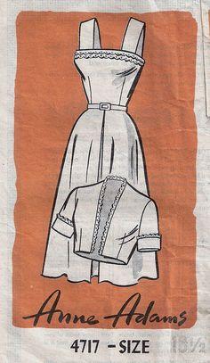 Vintage Sewing Pattern, via Flickr.