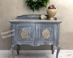 Items similar to Vintage Painted Buffet , Gray Gold Server, Hand Painted Sideboard , Hand Painted Furniture, Gray Gold SOLD on Etsy Vintage Sideboard, Painted Furniture, Painted Sideboard, Hand Painted Furniture, Furniture, Vintage Buffet, Cool Furniture, Repurposed Furniture, Grey Painted Sideboards