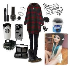 """""""ADVENTURE TIME WITH JAYY"""" by jayy-biersack ❤ liked on Polyvore featuring Current/Elliott, Smashbox, Marc by Marc Jacobs, Band of Outsiders, Miss Selfridge, NARS Cosmetics and Dr. Martens"""