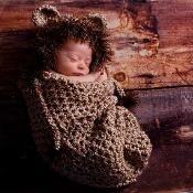 Little Lion Cocoon Set - via @Craftsy