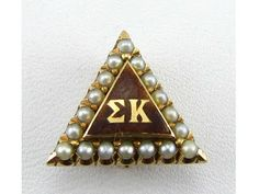 One of my favorite Panhel friends is a Sigma Kappa and I know she would love this badge!
