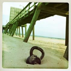 Beauty in simplicity - with a #kettlebell you can get a WOD in wherever you go!  Thanks for the pic, Matt W.