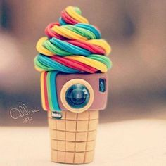 ice cream. that is just brilliant I love the idea and creation of this. looks so tasty