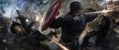Concept Art for 'Captain America: The Winter Soldier'